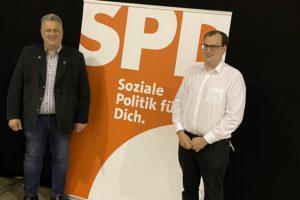 Michael Ospalski (li.) und Matthias Mittlmejer